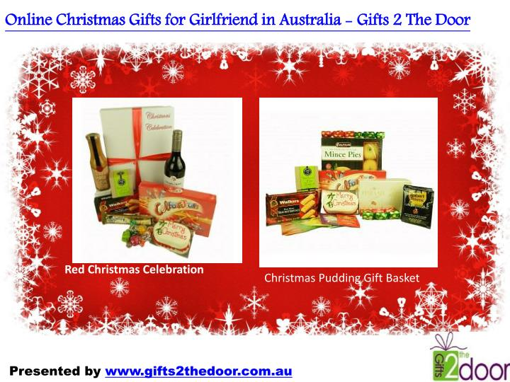 Online Christmas Gifts for Girlfriend in Australia - Gifts 2 The Door