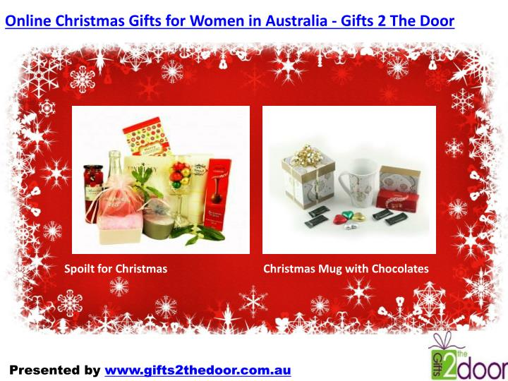 Online Christmas Gifts for Women in Australia - Gifts 2 The Door