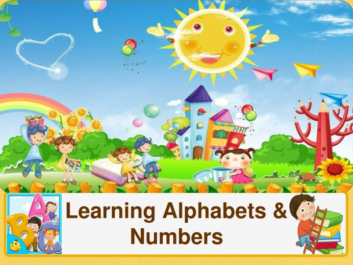 Learning Alphabets &