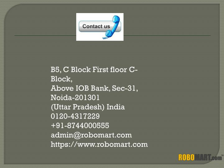 B5, C Block First floor C-Block,