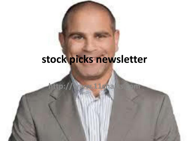 Stock picks newsletter