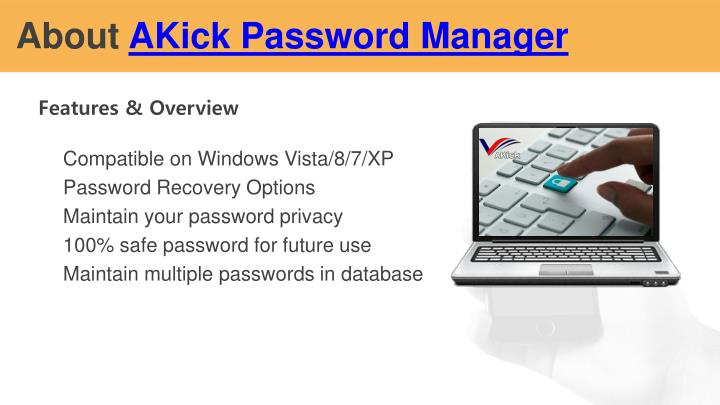 About akick password manager