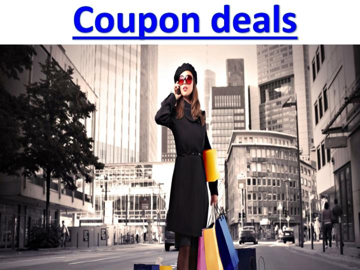 Coupon deals