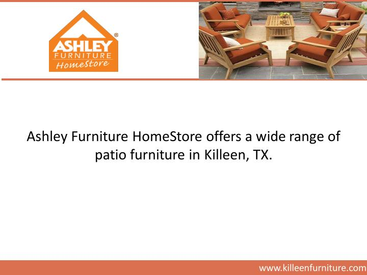 Ashley Furniture HomeStore offers a wide range of