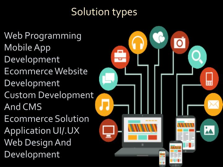 Solution types