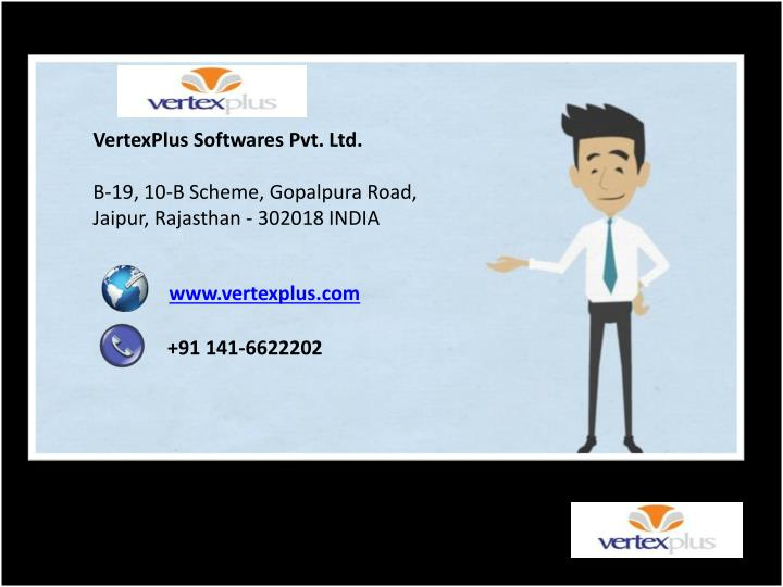 VertexPlus Softwares Pvt. Ltd.
