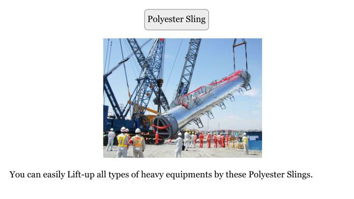 Polyester Sling