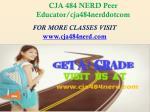 cja 484 nerd peer educator cja484nerddotcom1