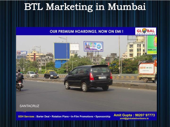 BTL Marketing in Mumbai