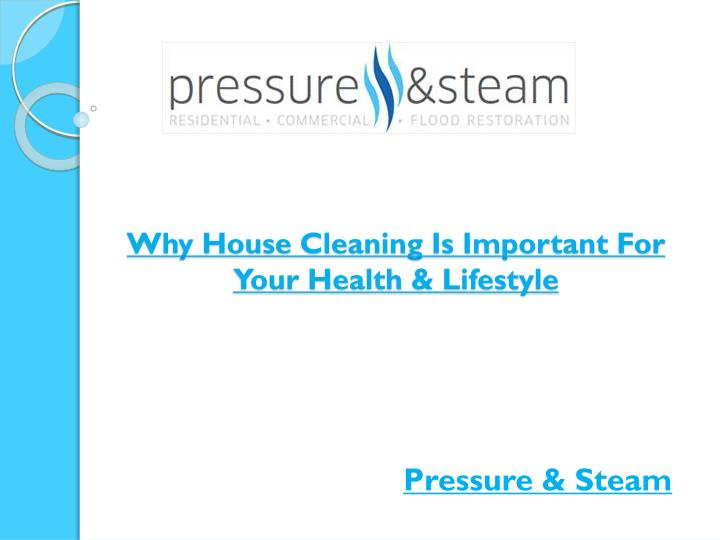 Why House Cleaning Is Important For