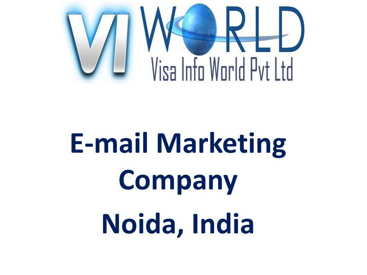 e mail marketing company noida india