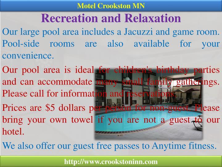 Motel Crookston MN