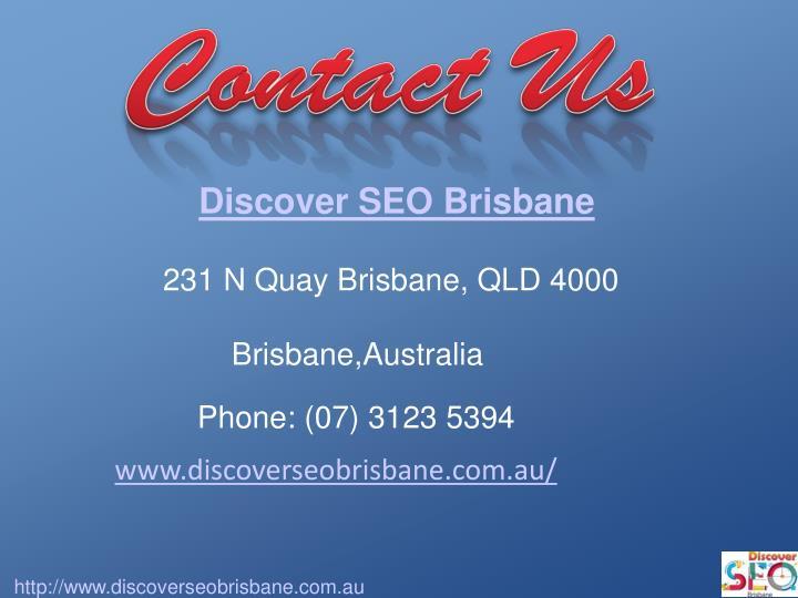 Discover SEO Brisbane