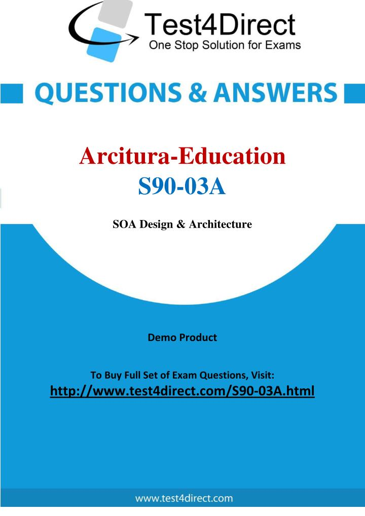 Ppt Arcitura Education S90 03a Certified Soa Java