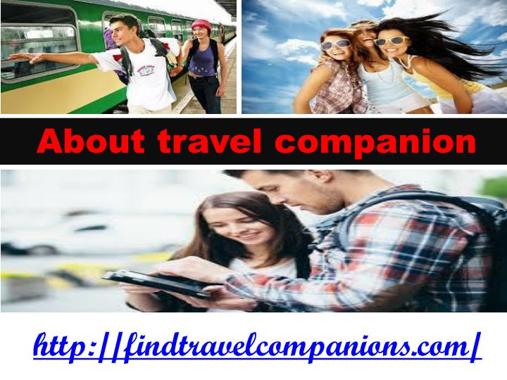 About travel companion