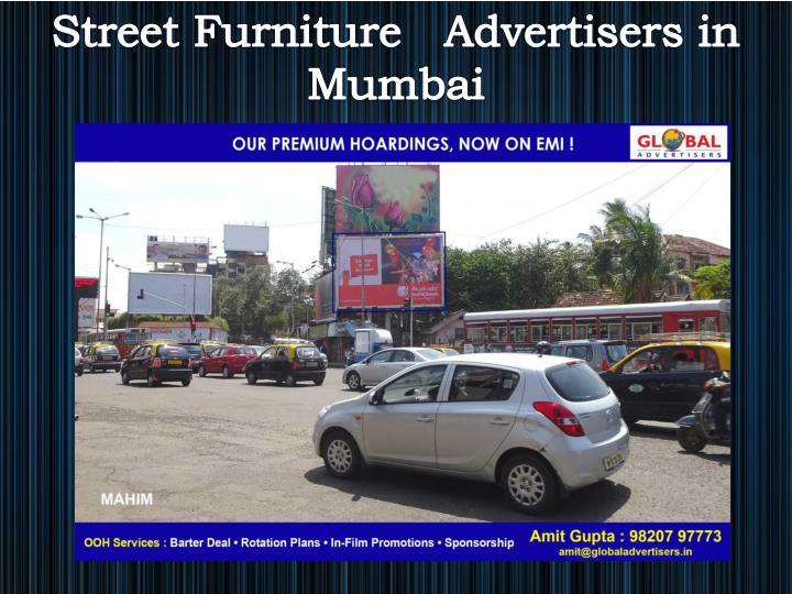 Street Furniture   Advertisers