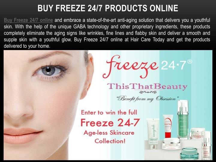 Buy Freeze 24/7