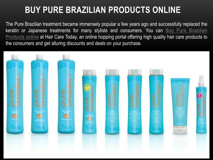 Buy pure brazilian products online