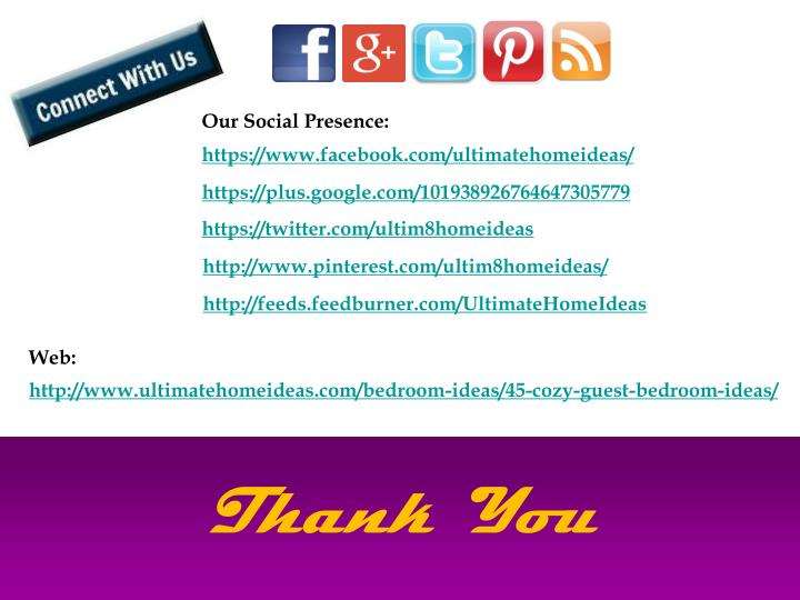 Our Social Presence: