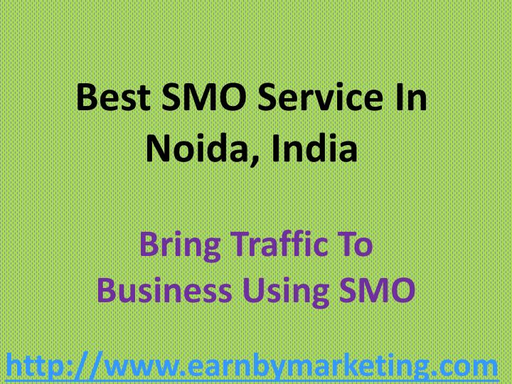 Best SMO Service In Noida, India