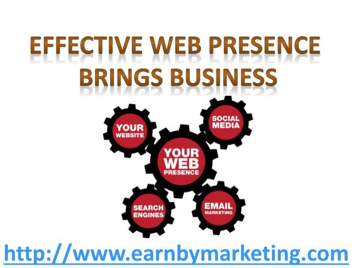 Effective web presence