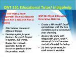 qnt 561 educational tutor indigohelp9