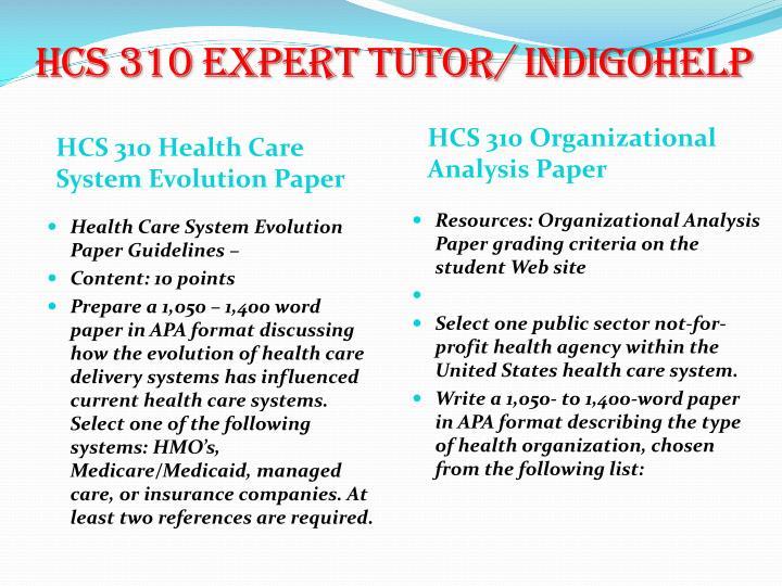 HCS 310