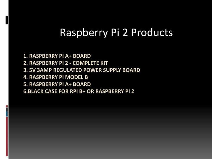 Raspberry pi ppt presentation download