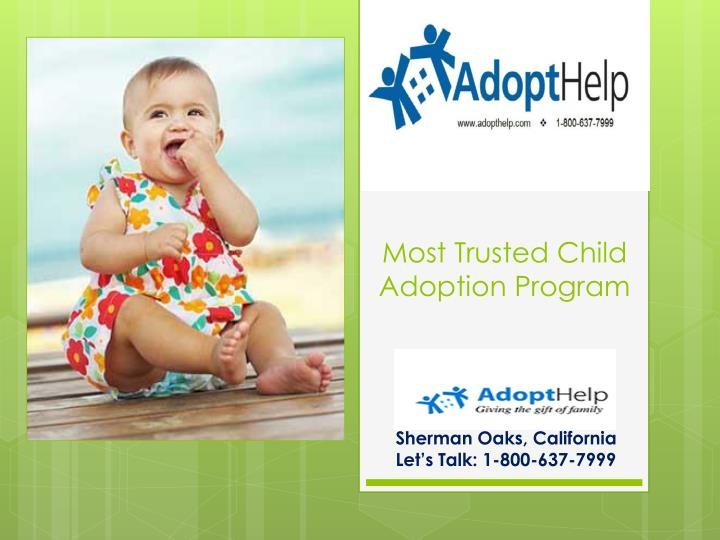 Most trusted child adoption program