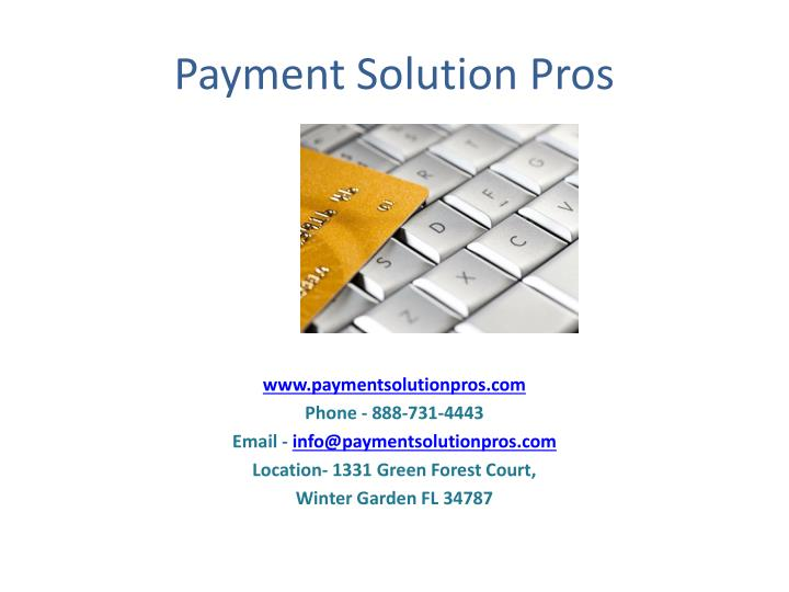 Payment Solution Pros
