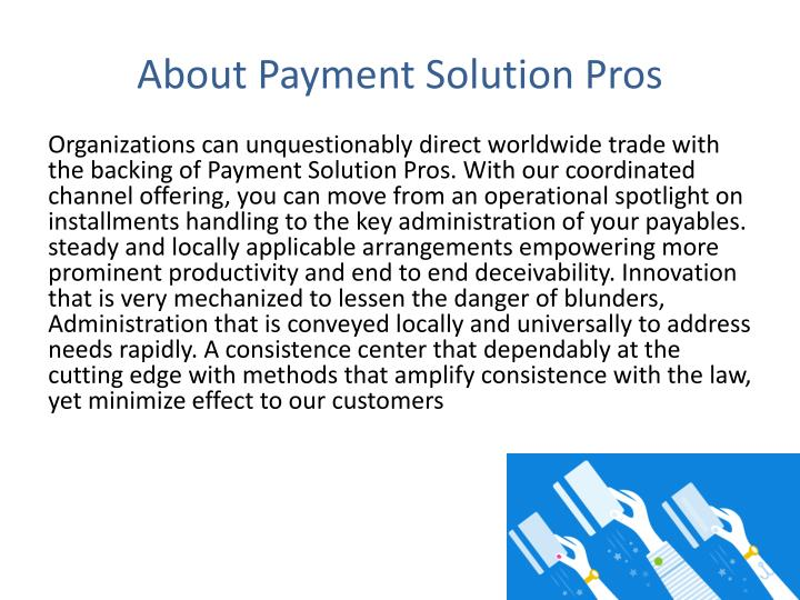 About Payment Solution Pros