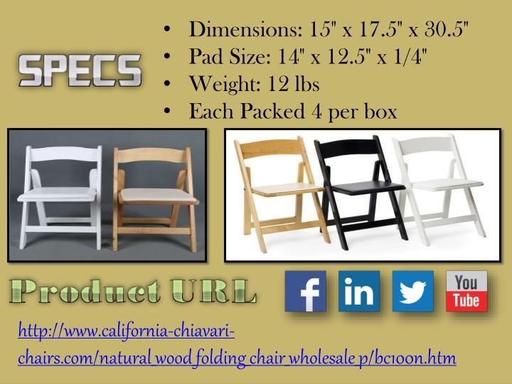 """Dimensions: 15"""" x 17.5"""" x 30.5"""""""