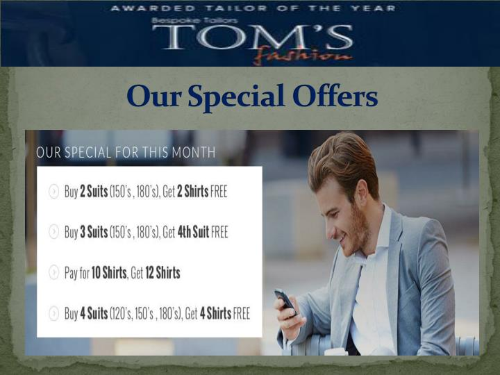 Our Special Offers
