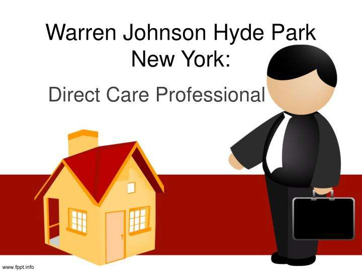 Warren johnson hyde park new york