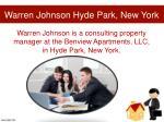 warren johnson hyde park new york1
