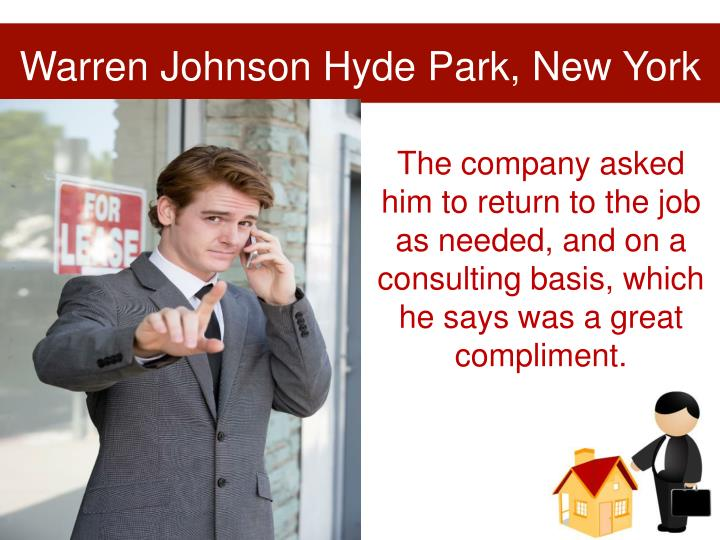 Warren Johnson Hyde Park, New York