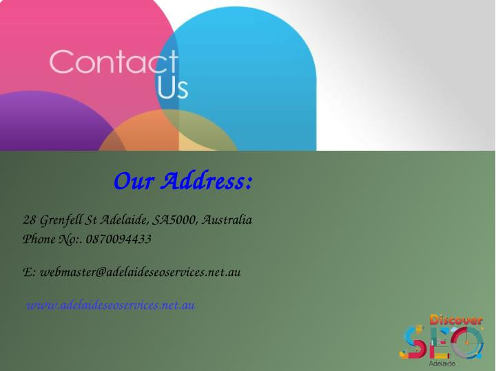 Our Address: