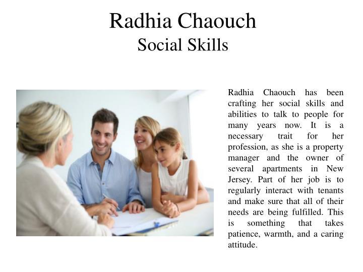 Radhia Chaouch