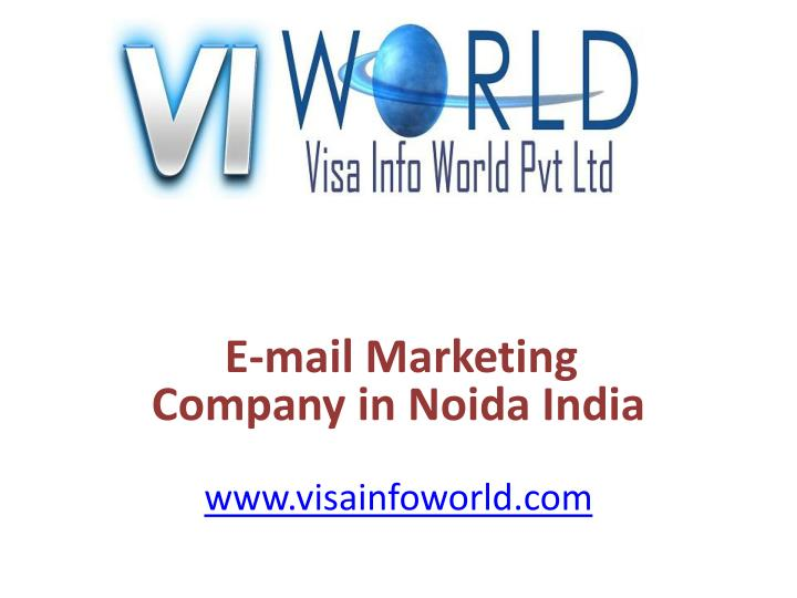 E mail marketing company in noida india