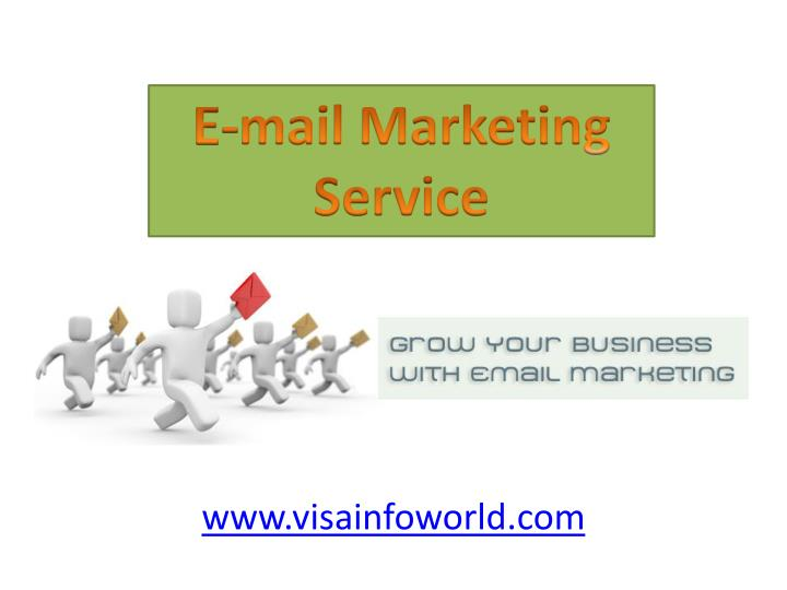 E-mail Marketing Service
