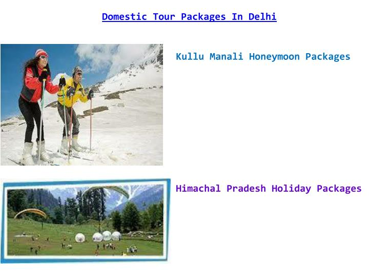 Domestic Tour Packages In Delhi