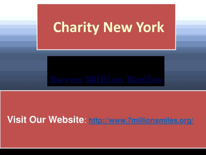 Charity New York