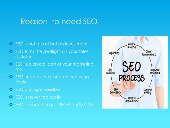 Reason  to need SEO
