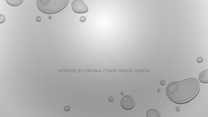 websites by central coast digital design