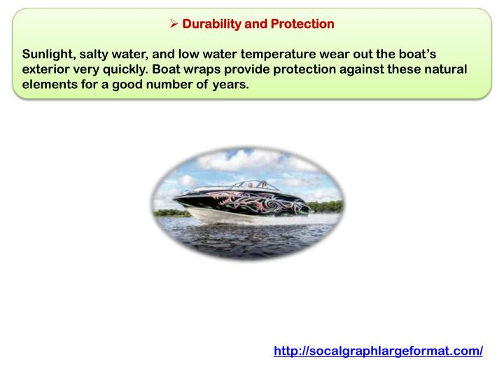 Durability and Protection