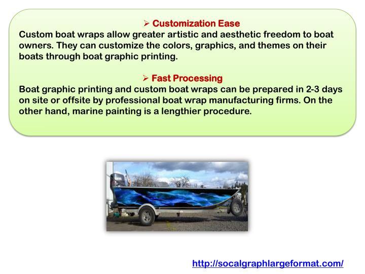 Customization Ease