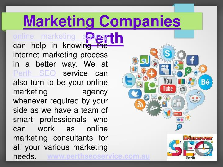 Marketing Companies Perth
