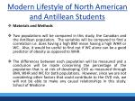 modern lifestyle of north american and antillean students6