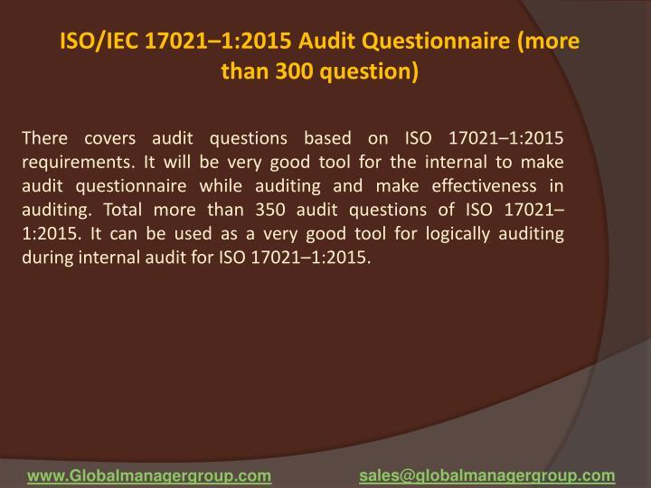 ISO/IEC 17021