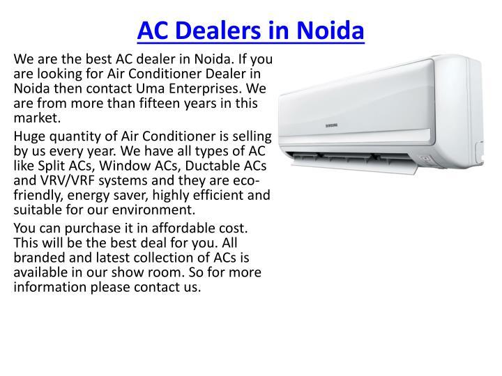 AC Dealers in Noida